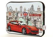 Чехол для нетбука, планшета 10 Красная машина