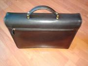 Продам кожаный портфель Katana (France)